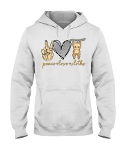 Limited Edition - Peace Love Sloths Hooded Sweatshirt thumbnail