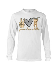 Limited Edition - Peace Love Sloths Long Sleeve Tee thumbnail