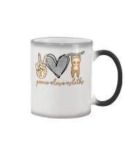 Limited Edition - Peace Love Sloths Color Changing Mug thumbnail
