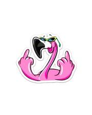 Flamingo Sticker - Single (Horizontal) front
