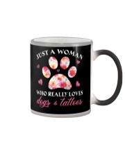 Limited Edition - Dogs And Tattoos Color Changing Mug thumbnail