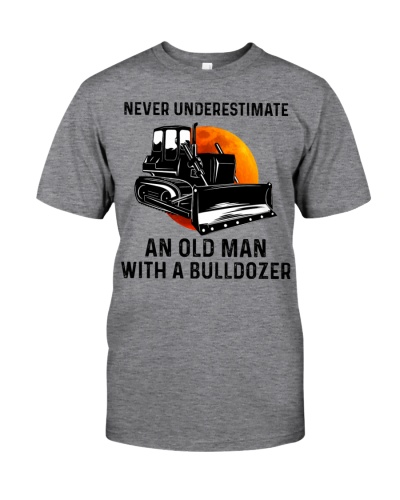 Never Underestimate An Old Man With A Bulldozer