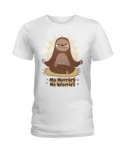 Limited Edition - No Hurries - No Worries Ladies T-Shirt front