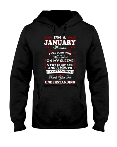 Limited Edition - I Am A January Woman
