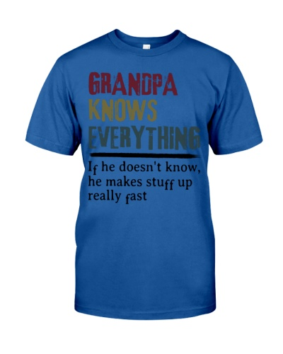 Limited Edition - Grandpa Knows Everything