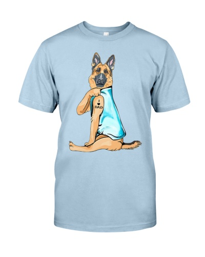 Limited Edition - German Shepherd I Love Dad