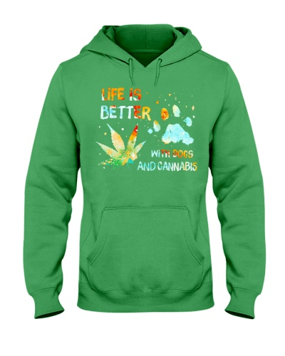 Life Is Better With Dogs And Cannabis