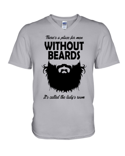 There's A Place For Men Without Beards