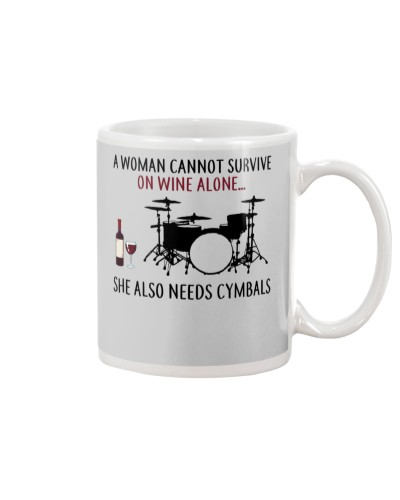 A Woman Needs Cymbals On Wine