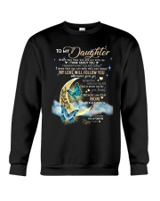 Butterfly - To My Daughter Crewneck Sweatshirt thumbnail