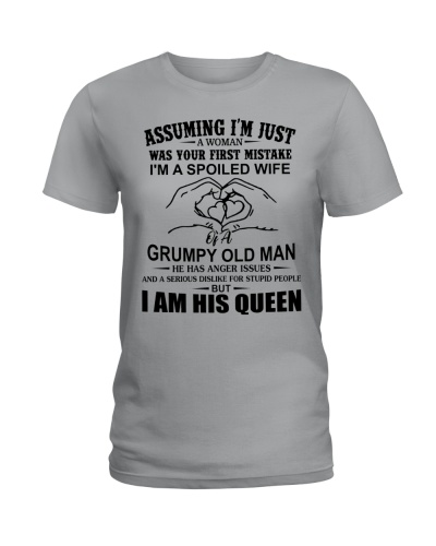 Limited Edition - I'm A Grumpy Old Man's Queen