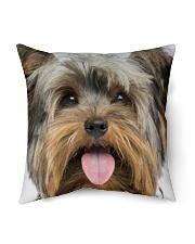 """Big Face Yorkshire Indoor Pillow - 16"""" x 16"""" thumbnail"""