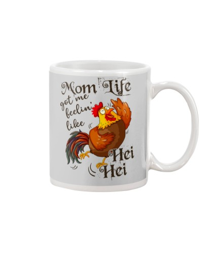 Mom Life Got Me Feelin' Like Hei Hei