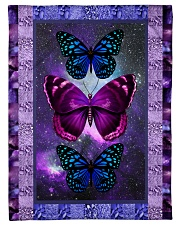 "Butterfly - Only One Day Small Fleece Blanket - 30"" x 40"" front"