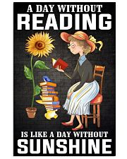 A Day Without Reading Like A Day Without Sunshine 24x36 Poster front