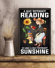 A Day Without Reading Like A Day Without Sunshine 24x36 Poster lifestyle-poster-3