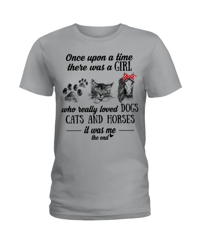 A Girl Who Really Loved Dogs Cats And Horses