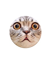 Big Face Cat Circle Magnet thumbnail