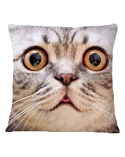 Big Face Cat Square Pillowcase thumbnail
