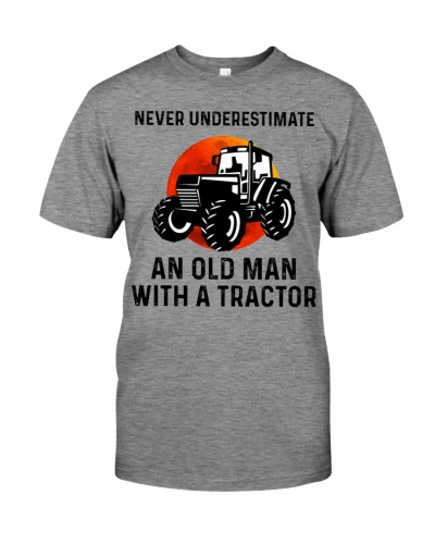 Never Underestimate An Old Man With A Tractor