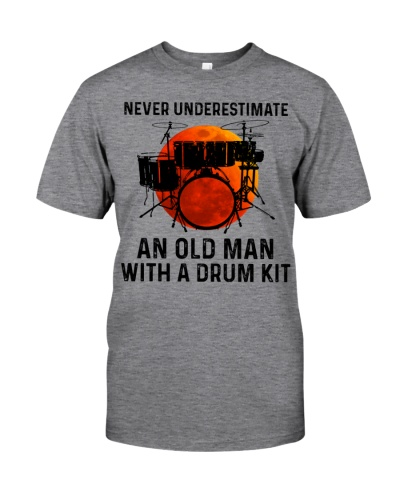 Never Underestimate An Old Man With A Drum Kit
