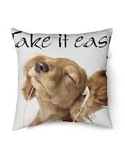 """Big Face Dogs Indoor Pillow - 16"""" x 16"""" thumbnail"""
