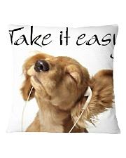 Big Face Dogs Square Pillowcase thumbnail