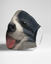 Big Face Border Collie Cloth Face Mask - 3 Pack aos-face-mask-lifestyle-21