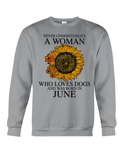 A Woman Who Loves Dogs And Was Born In June