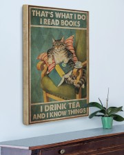 I Read Books - I Drink Tea And I Know Things 20x30 Gallery Wrapped Canvas Prints aos-canvas-pgw-20x30-lifestyle-front-01