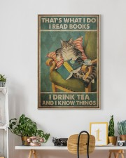 I Read Books - I Drink Tea And I Know Things 20x30 Gallery Wrapped Canvas Prints aos-canvas-pgw-20x30-lifestyle-front-03