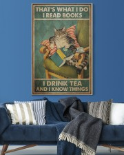 I Read Books - I Drink Tea And I Know Things 20x30 Gallery Wrapped Canvas Prints aos-canvas-pgw-20x30-lifestyle-front-06