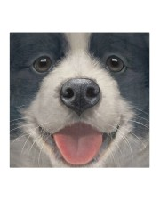 Big Face Border Collie Cloth face mask aos-face-mask-coverlet-lifestyle-front-02