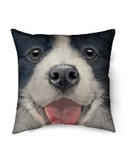 """Big Face Border Collie Indoor Pillow - 16"""" x 16"""" thumbnail"""