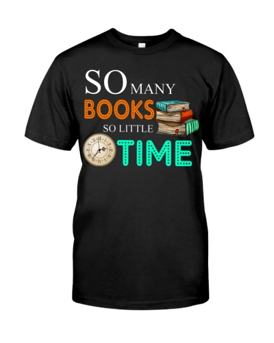 Limited Edition - So Many Books So Little Time