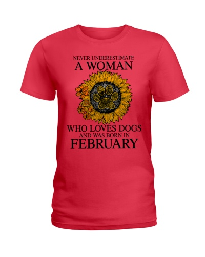 A Woman Who Loves Dogs And Was Born In February