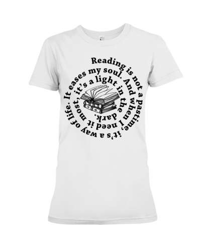 Reading Is Not A Pastime It's A Wey Of Life