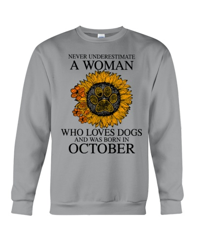 A Woman Who Loves Dogs And Was Born In Octorber