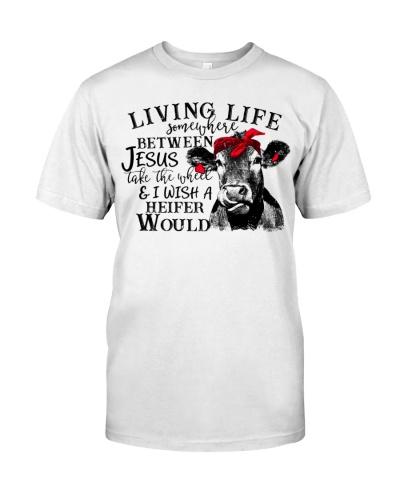 Living Life Somewhere Between Jesus Take The Wheel
