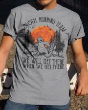 Limited Edition - Sloth Running Team Classic T-Shirt apparel-classic-tshirt-lifestyle-28