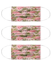 Flamingo Cloth Face Mask - 3 Pack front