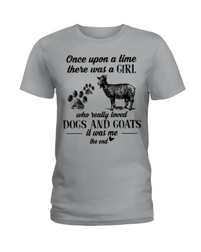 Limited Edition - A Girl Loved Dogs And Goats