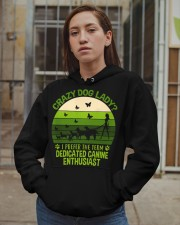 Limited Edition - Crazy Dog Lady Hooded Sweatshirt apparel-hooded-sweatshirt-lifestyle-08