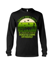 Limited Edition - Crazy Dog Lady Long Sleeve Tee tile