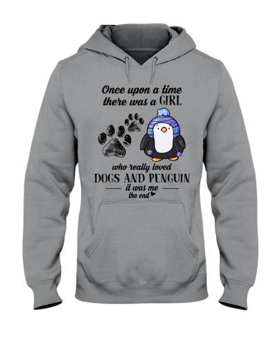 A Girl Who Really Loved Dogs And Penguin