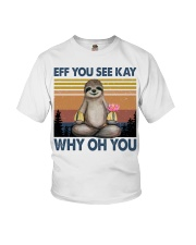 Limited Edition - Eff You See Kay - Why Oh You Youth T-Shirt thumbnail