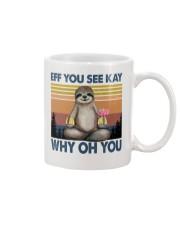 Limited Edition - Eff You See Kay - Why Oh You Mug thumbnail