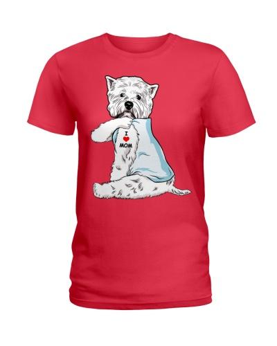 West Highland White Terrier-I Love Mom