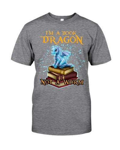 Limited Edition - I'm A Book Dragon Not A worm