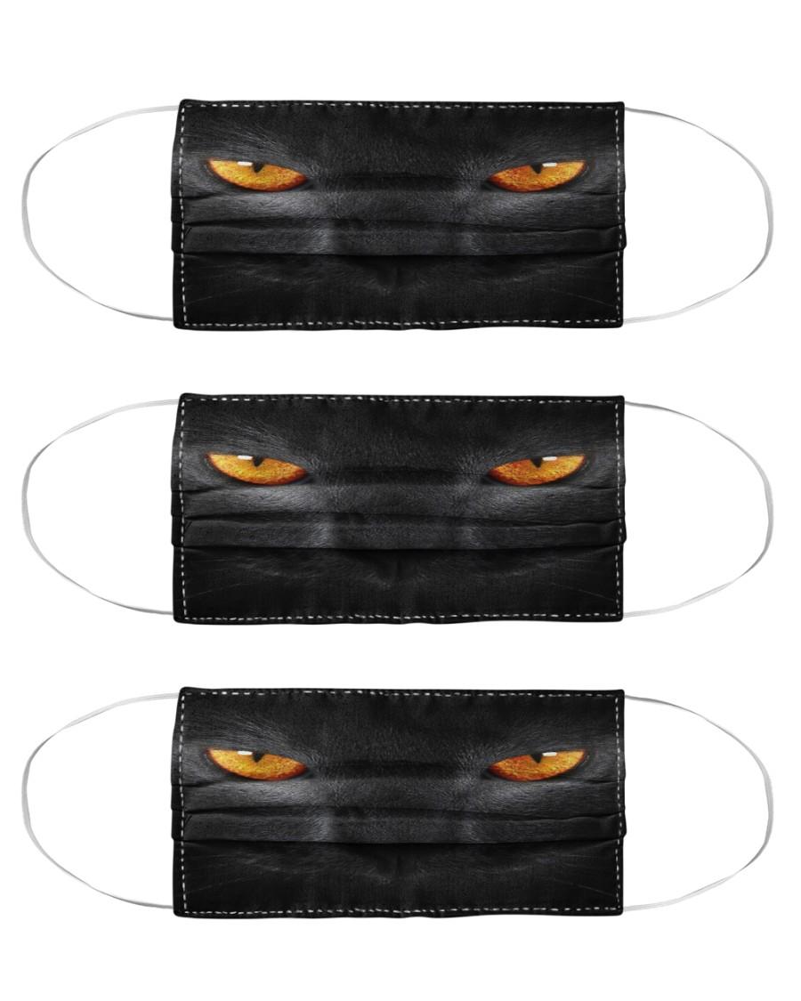 Big Face Cat Cloth Face Mask - 3 Pack